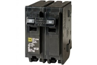 3 Pack Square D By Schneider Electric Hom250C Hom250C 50A 2 Pole Ho Breaker