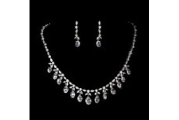Elegance By Carbonneau Necklace & Earring Set - Style N9005&E9018