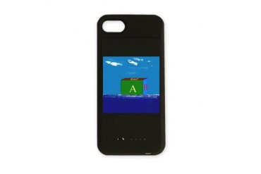 Real Block Island Funny iPhone Charger Case by CafePress