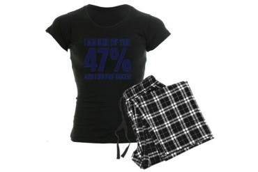 I Am One Of The 47 Percent Political Women's Dark Pajamas by CafePress