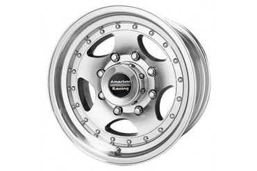 American Racing Wheels AR23, 15x7 with 5 on 4.5 Bolt Pattern - Machined With Clear Coat AR235765 Wheels