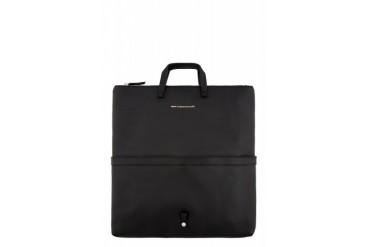 Want Les Essentiels De La Vie Black Leather Peretola Foldable Tote