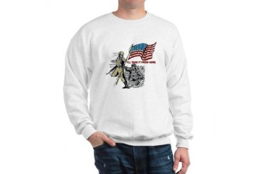 Passing the Colors Sweatshirt by CafePress