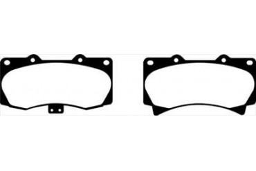 EBC Brakes Yellowstuff Street And Track Brake Pads DP41759R Disc Brake Pads