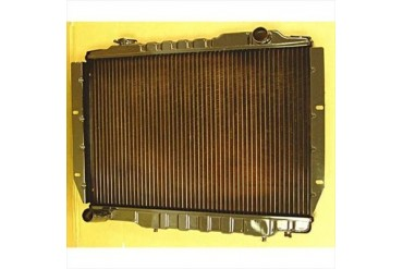 Omix-Ada Replacement 2 Core Radiator for 4.2L 6 Cylinder Engine with Automatic Transmission 17101.10 Radiator