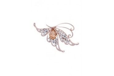 eslystyle.com Jewel Butterfly Brooch