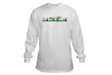 Snoopy and Linus RUMBLE Peanuts Long Sleeve T-Shirt by CafePress