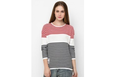 Heath Flatknit Stripe Ls