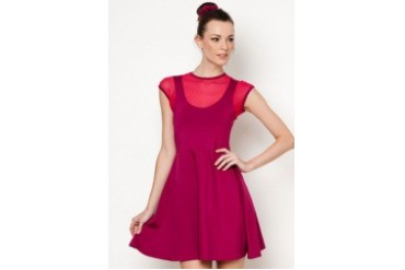 Blaire Dress with Matching Hair Pony Tail