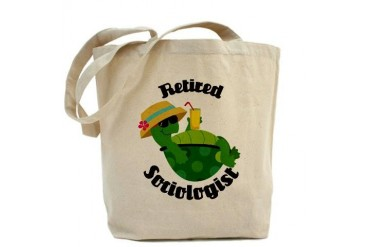 Retired Sociologist Gift Retirement Tote Bag by CafePress
