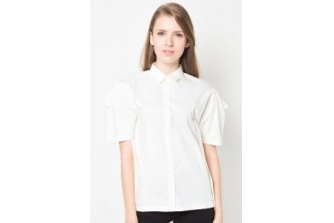 (X) S.M.L Side Pleats Shirt