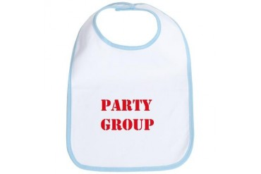 Party Group Party Bib by CafePress