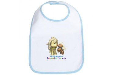 Mommy is RT Baby Bib by CafePress