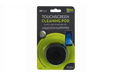 Microfibre Cleaning Pod For Touchscreen Smartphones Tablets PC