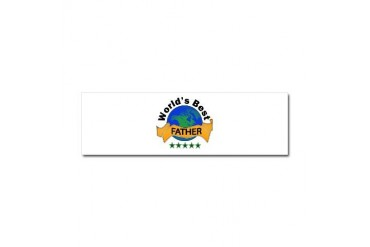 Family Car Magnet 10 x 3 by CafePress