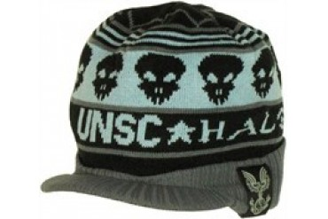 Halo UNSC Skull Ring Visor Embroidered Beanie