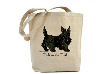 Scottish Terrier Attitude Pets Tote Bag by CafePress