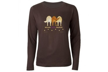 Nothin' Butt Goldens Women's Long Sleeve Dark T-Sh Funny Women's Long Sleeve Dark T-Shirt by CafePress