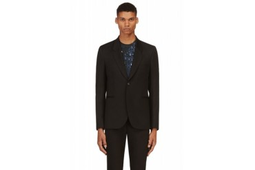 Paul Smith Black Slim Blazer