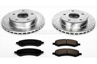 Power Stop Performance Brake Upgrade Kit K2193 Replacement Brake Pad and Rotor Kit