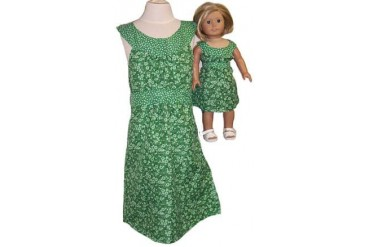 Availalbe for Girls amp Dolls Green Dress Size 14