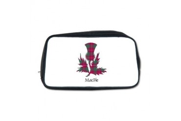 Thistle - MacFie Scottish Toiletry Bag by CafePress