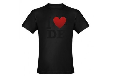 i-love-delaware.png Organic Men's Fitted T-Shirt Baltimore Organic Men's Fitted T-Shirt dark by CafePress