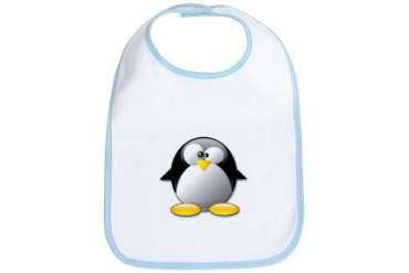 'Penguin' Baby Bib by CafePress