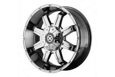 ATX Wheels AX192, 17x8.5 with 6 on 135 and 6 on 5.5 Bolt Pattern - Chrome AX19278567818 ATX Wheels