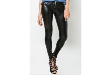 Zip Front Wet Leggings