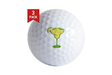 Margarita Funny Golf Balls by CafePress