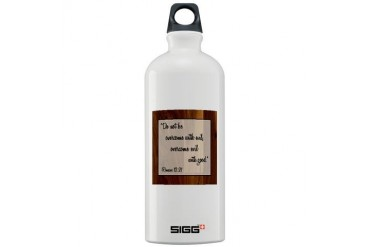 ROMANS 12:21 Religion Sigg Water Bottle 1.0L by CafePress