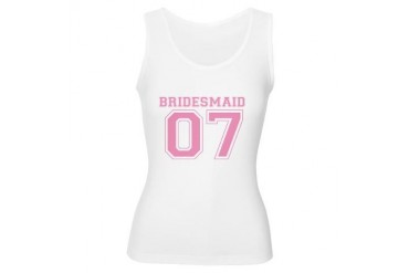 Bridesmaid '07 Wedding Women's Tank Top by CafePress
