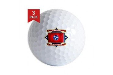 Tennessee diamond.png Us states Golf Balls by CafePress