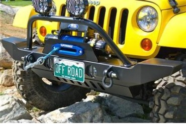 Hyline Offroad Standard Winch Guard 400.100.170 Front Bumpers