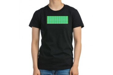 Plaidway Green Women's Fitted T-Shirt dark by CafePress