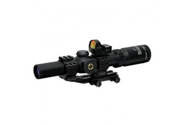 Mtac Rifle Scopes - Mtac 1-4x24mm 30mm Illum. Cq W/Fastfire Iii & P.E.P.R.