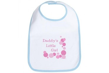 Daddy's Little Girl Family Bib by CafePress