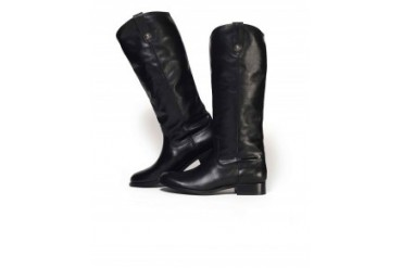 Frye 'Melissa' Button Riding Boots Black, 7.5
