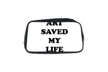 ART SAVED2.png Cool Toiletry Bag by CafePress