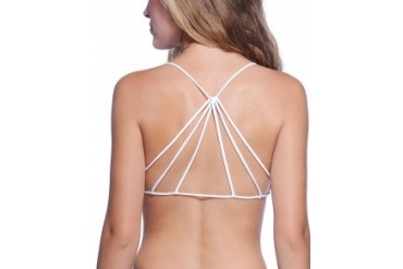 Free People Strappy Back Bra White, Xs/S