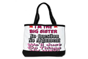 IM THE BIG SISTER Kids Shoulder Bag by CafePress