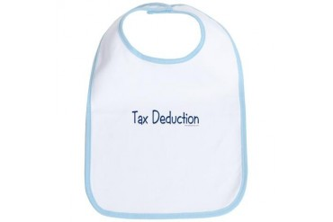 Tax Deduction Funny Bib by CafePress