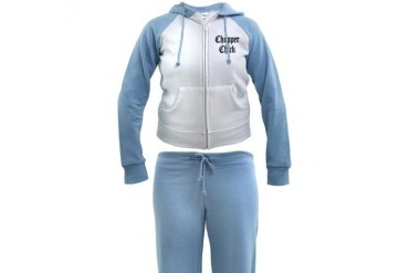 Chopper Chick Hobbies Women's Tracksuit by CafePress
