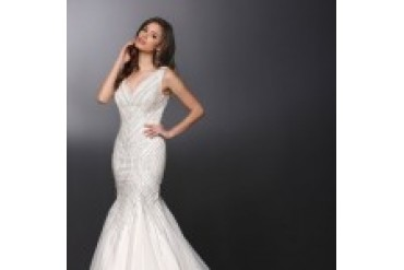Davinci Quick Delivery Wedding Dresses - Style 50263