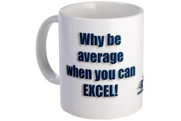Why be Average? Mug