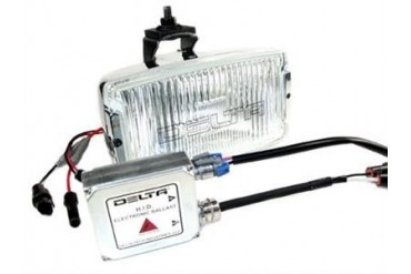 Delta Industries Delta 850H Series HID Fog Light Kit - Chrome 01-8539-HDC2 Offroad Racing, Fog & Driving Lights