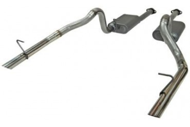 1986-1993 Ford Mustang Exhaust System Flowmaster Ford Exhaust System 817213 86 87 88 89 90 91 92 93
