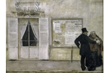 Guests Awaiting a Wedding , (Les Invits Attendant la Noce), Jean Francois