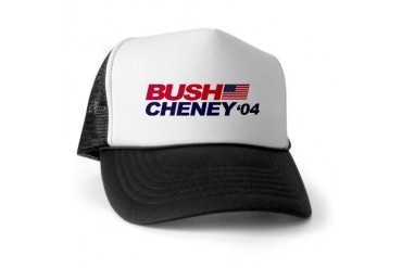 Bush/Cheney Bush Trucker Hat by CafePress